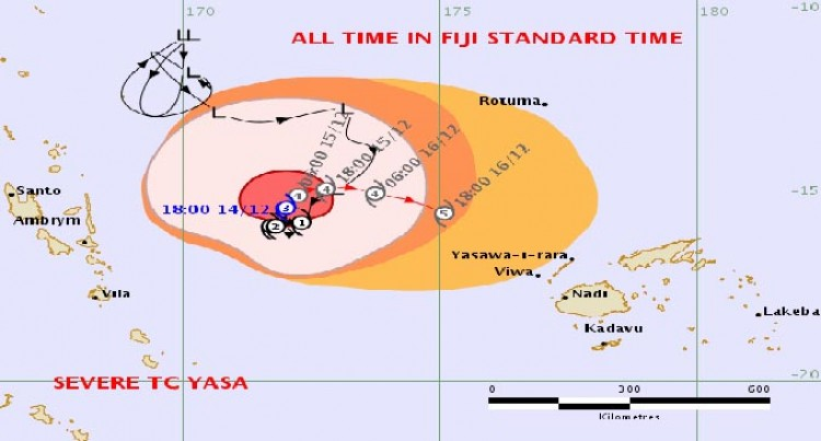 Caution: What You Need To Know About Tropical Cyclone Yasa