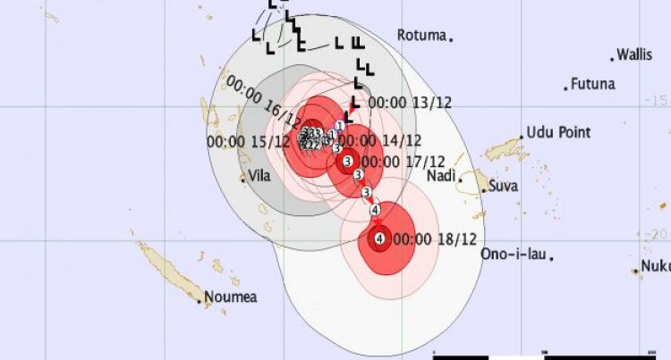 TD02F Expected To Develop Into A Tropical Cyclone Later Today