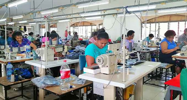 Westpace Apparel Limited Operating 80 per Cent At Suncoast