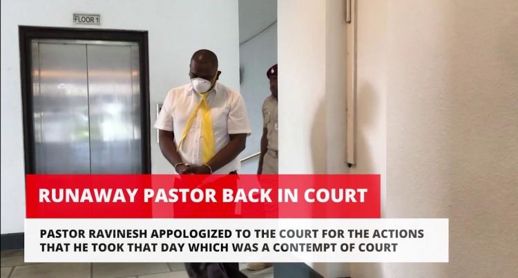 Runaway Pastor Back In Court