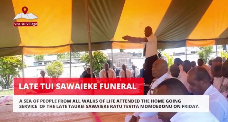 Funeral Of The Late Taukei Sawaieke Ratu Tevita Momoedonu