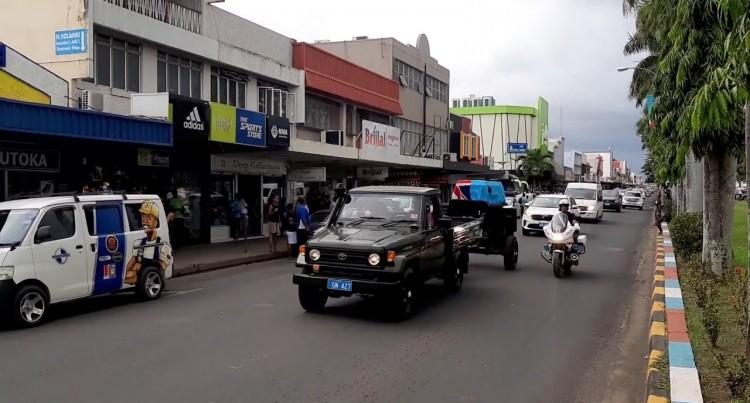 Ratu Tevita Momoedonu Funeral Procession Vitogo Parade Lautoka City