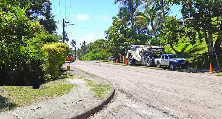 Remedial Road Works Through Raiwai And Raiwaqa Done