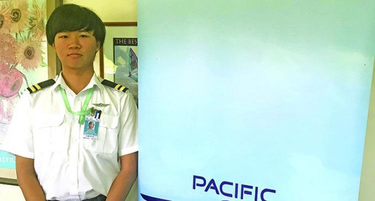 Andrew Liu Tops Nadi Pacific Flying School