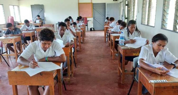 Bua Students Sit Exams Despite Damaged School