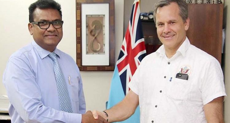 Ambassador Cella Thanks Fijian Government For Support