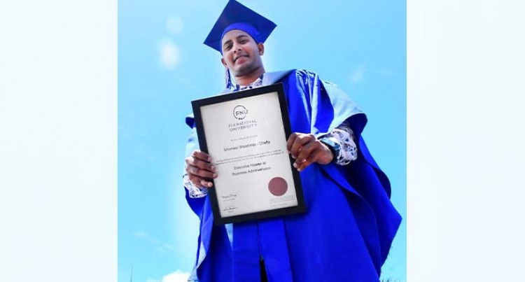 Graduation, A Joyful End To Chetty's Daily Juggle Between Work And Studies