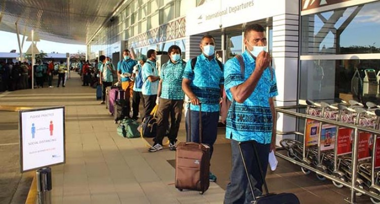 182 Fijian Pacific Labour Scheme Workers Depart For Australia