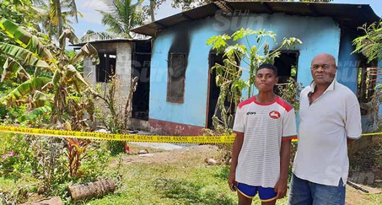 Aspiring Rugby Star's Dream Booted In House Fire