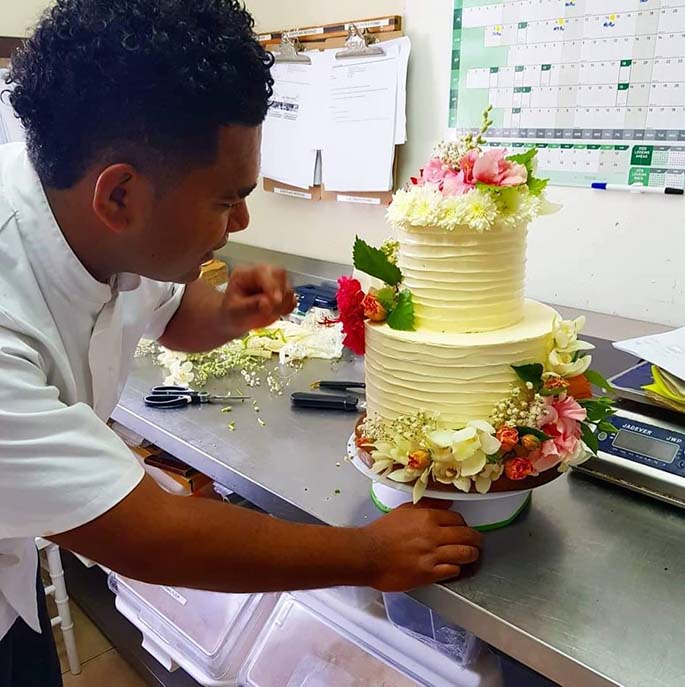 Pastry chef and entrepreneur Josese Cagica and his creative cake creations that he sells from his business called Cake Lab.