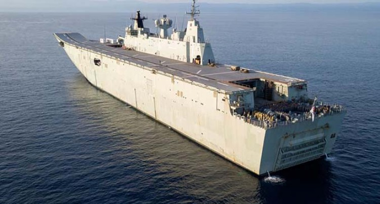 HMAS Adelaide To Arrive In Suva Today