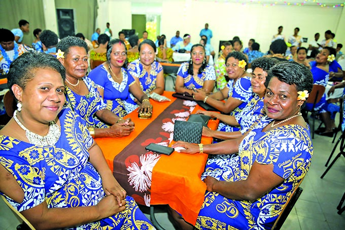 Fiji Women Police officers during the 50 years of service celebration at the Fiji Police Force Academy on December 30, 2020.  Photo: Fiji Police Force