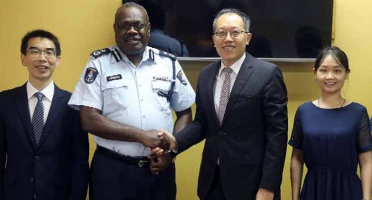 'Relationship Between Fiji Police Force And China Is Very Friendly'