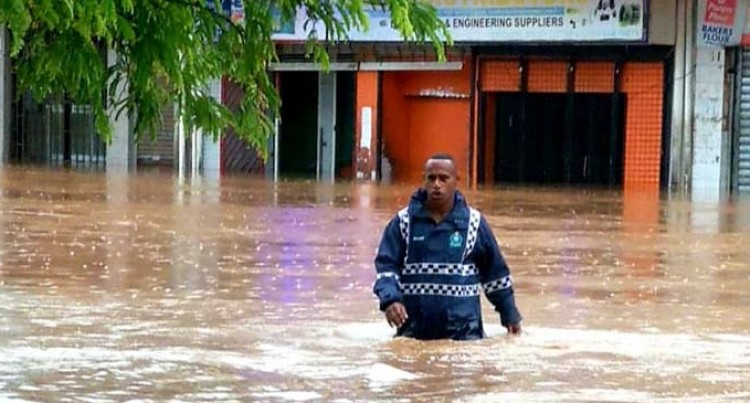 Several Roads Across Fiji Flooded, More Rain Expected