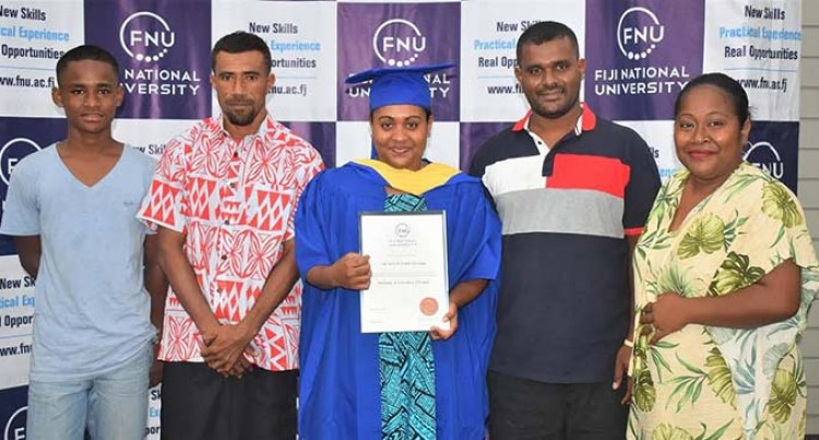 Uluvaga Juggles Family And Studies, Graduates With A Degree