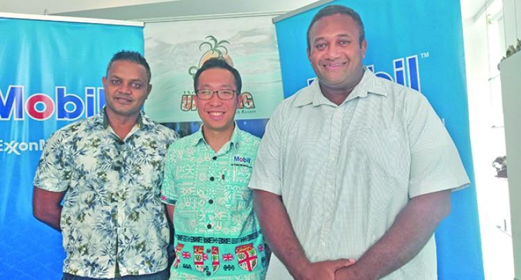 Two Fiji 7s Team In Mobil Uprising 7s