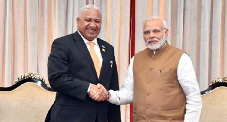 PM Bainimarama Conveys Best Wishes To India On The Occasion Of 72nd Republic Day Of India