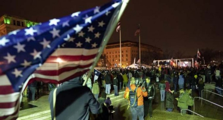 Protesters Storm U.S. Capitol, Forcing Electoral Vote Counting To Halt