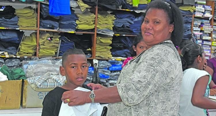 Sekove Thanks Aunt For Buying School Uniform
