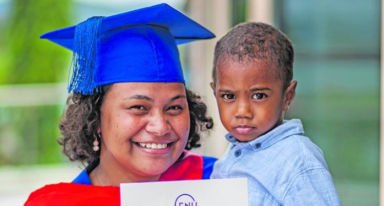 Brown, 23, Graduates With No Delay Despite Two Pregnancies