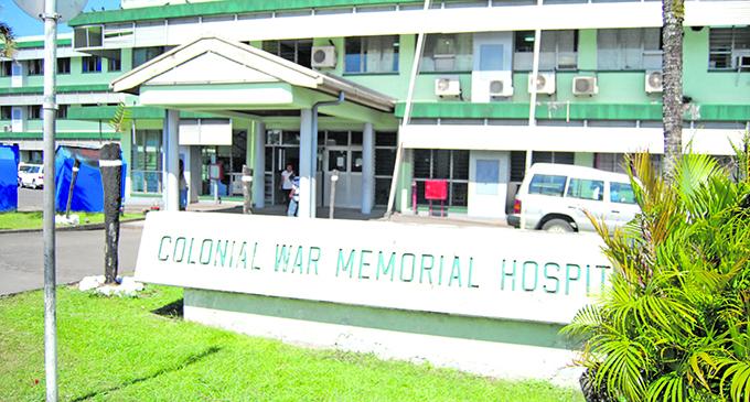 Suva's Colonial War Memorial Hospital.  Photo: Ronald Kumar