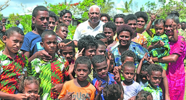 Villagers Show PM That They're Resilient