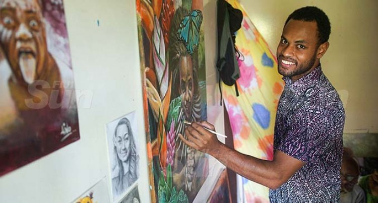 From Cane Cutting To Painting On Canvas: Artist Tells Of Prayer That Changed His Life