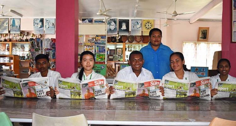 School's Back, So Is The Fiji Sun