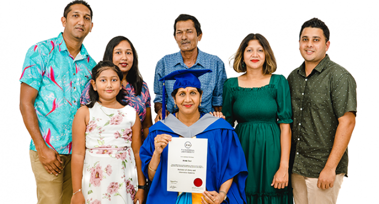Sharma Completes Her Degree At 54