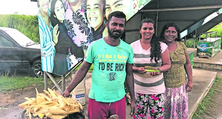 Narayan Earns More Money Selling Vegetables At The Roadside Stall