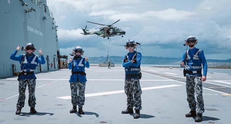 Australian Defence Force Supports Vuvale Partnership