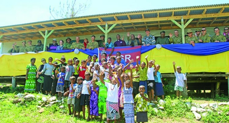 Galoa Island Primary Ready But Await Water Restoration For Classes To Start