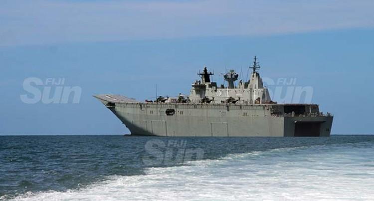 HMAS Adelaide Heads Home Today