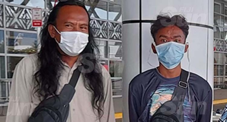 Indonesian Fishermen Return Home