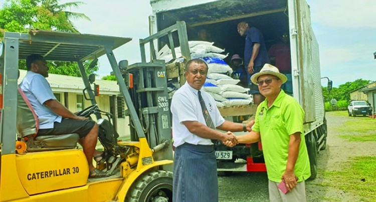 Korean National Spreads Love To Affected Families Of TC Yasa