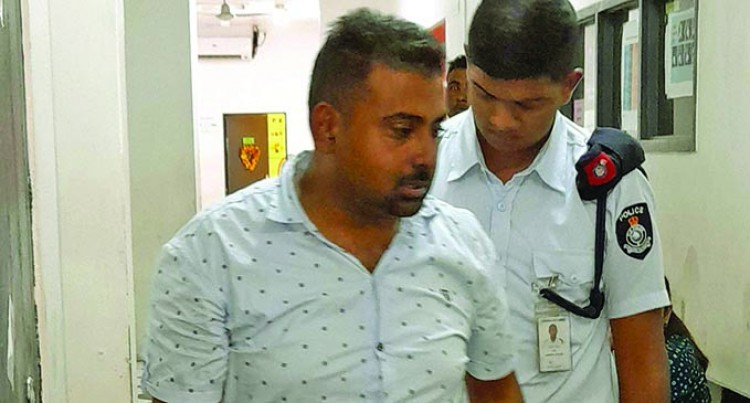 Government Vehicle Driver remanded