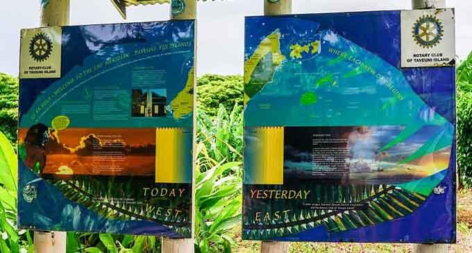 The International Dateline runs through Taveuni.