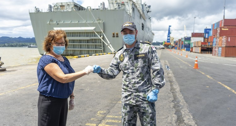 Yasa Aid Reunites Mom And Navy Son