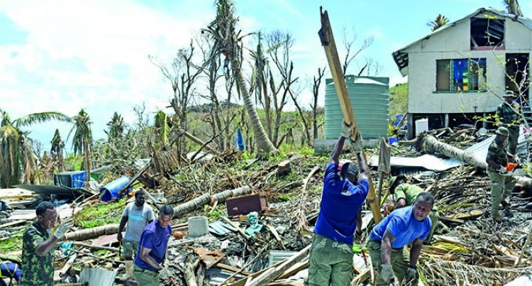 Commissioner Northern Urges People To Help Clear Debris