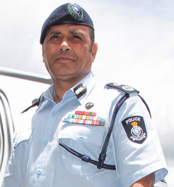 Commissioner of Police, Brigadier General Sitiveni Qiliho