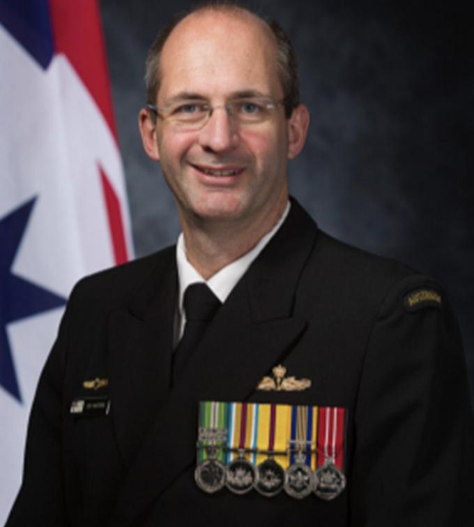Captain Stuart Watters, RAN.
