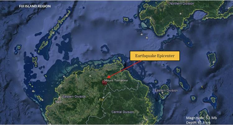 5.1 Magnitude Earthquake Recorded In Navai, Ba