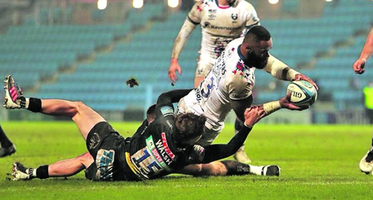 Radradra Scores For Bears