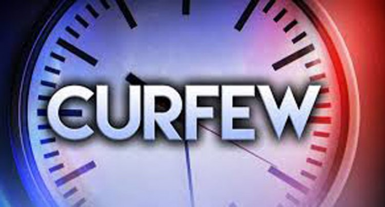 Nationwide Curfew From Tomorrow