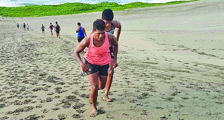 Fijiana XVs Hit The Sand Dunes