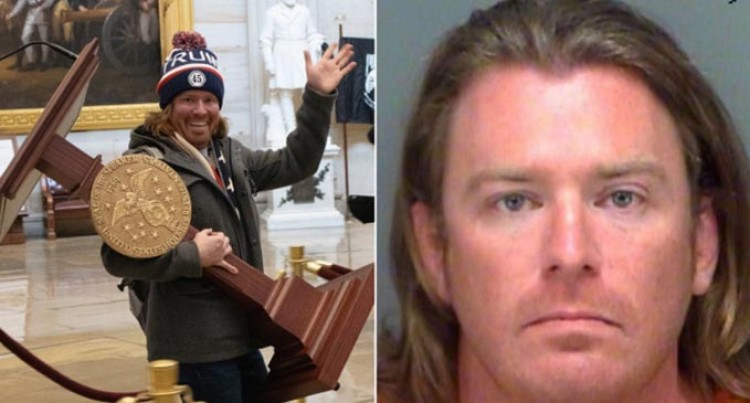 Man Seen Carrying Speaker Nancy Pelosi's Podium Arrested