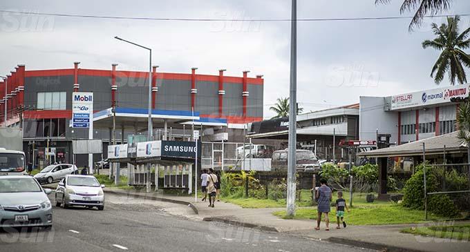 The bus stop at Nabua where Adi Livia Kariniu was attacked. Photo: Leon Lord
