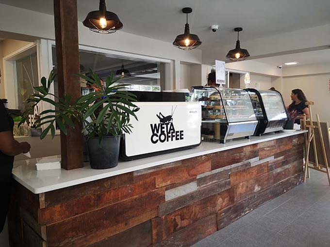Weta Coffee cafe at Selbourne Street, in Suva.
