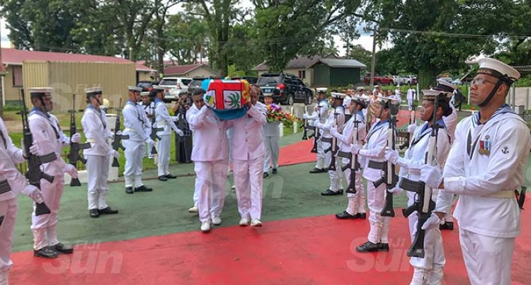 Lieutenant Commander Silipa Accorded Last Military Honour