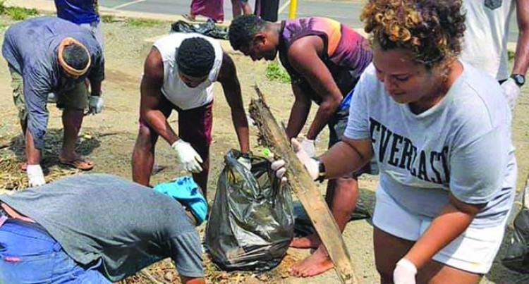 Youths Team Up To Clean A Nadi Settlement